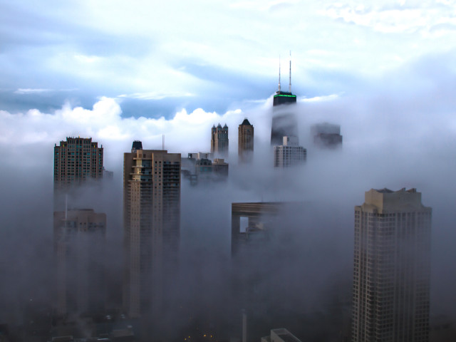 Cloud Base in the City
