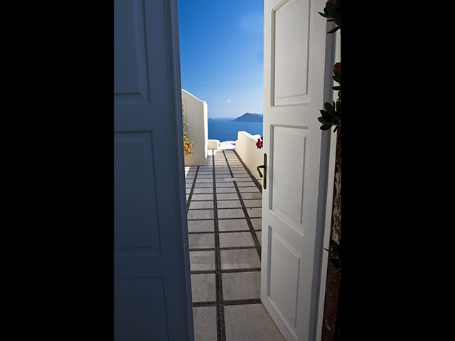 Santorini Doorway