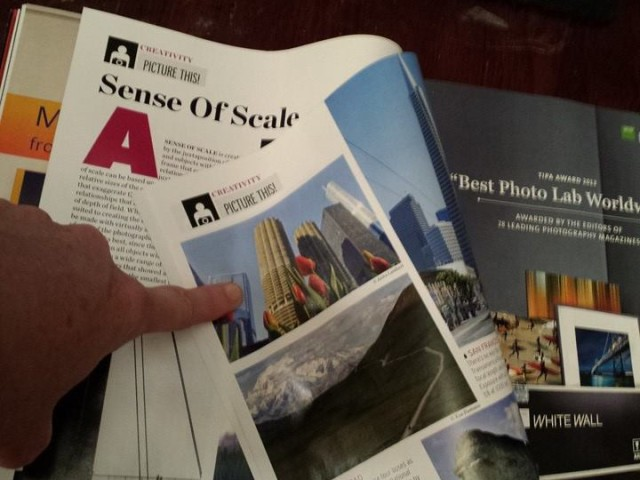 Sense of Scale/Shutterbug Magazine